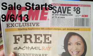 ACME Weekly Ad and Rachael Ray Promotion and ACME Coupon