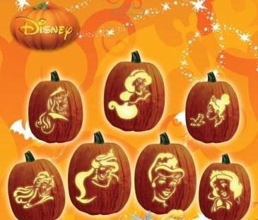 Disney pumpkin carving patterns disney pumpkin stencils for Rapunzel pumpkin template