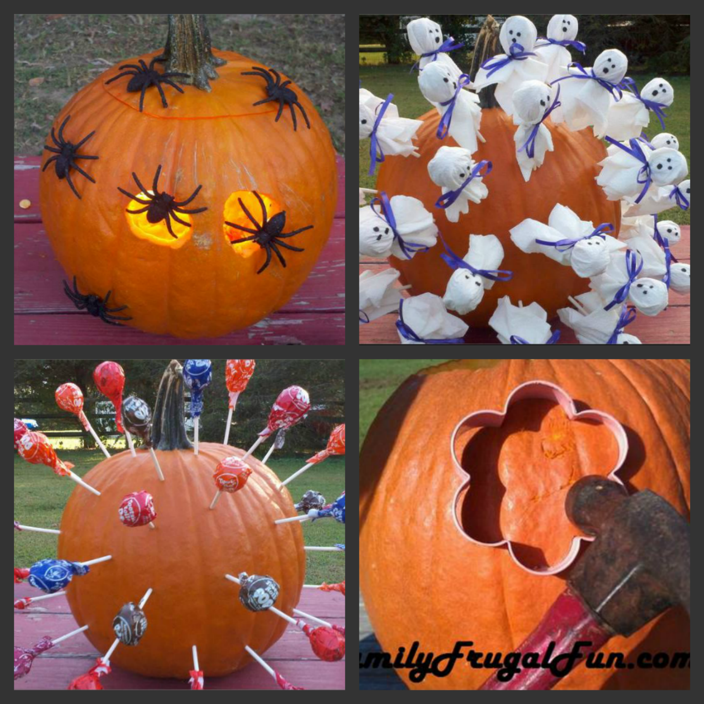 Jack o lantern ideas pumpkin decorating ideas family finds fun - Attractive kid halloween decorating design ideas with various spiderman pumpkin carving ...