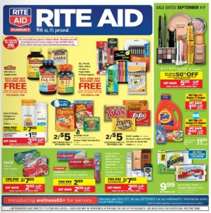 Rite Aid Weekly Ad September 1st 2013
