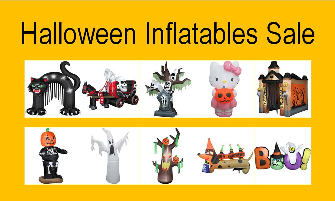 Halloween Outdoor Inflatables Yard Decorations - Halloween Inflatable Outdoor Decorations Family Finds Fun