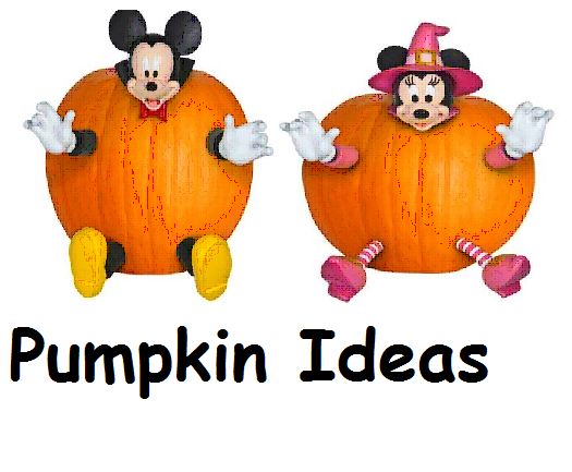 Mickey mouse pumpkin decorating ideas family finds fun for How to paint a mickey mouse pumpkin