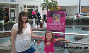 Westfield Annapolis Mall Pink Promotion