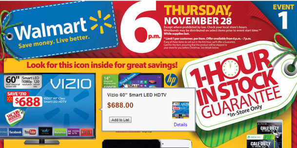 Black Friday Ad: Walmart Online Black Friday Pricing | Family ...