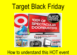 Target Black Friday Specials 2013