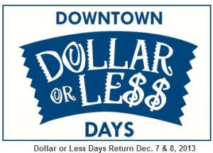 downtown Baltimore Dollar Days