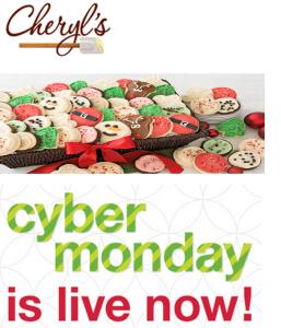 Cheryl's Christmas Cookie Cyber Monday Sale