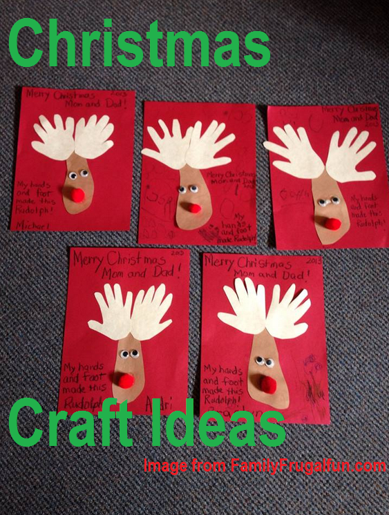 Kindergarten Christmas Craft Ideas | Family Finds Fun