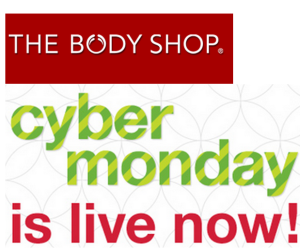 The Body Shop Cyber Monday Sale 2013
