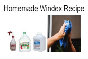 Homemade Windex Recipe