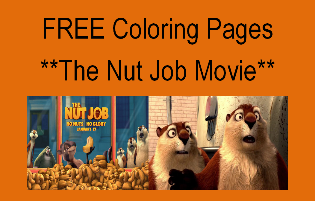 the nut job movie free coloring pages activities