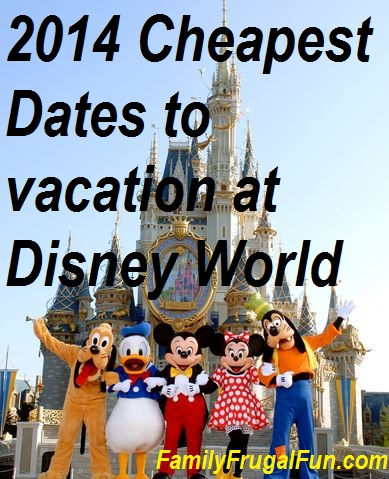 Cheapest Times To Travel To Disney