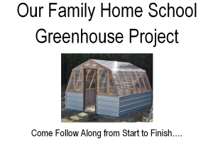 Family Home School Project