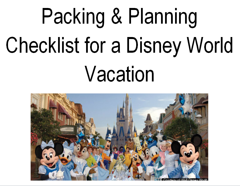 essay on planning a vacation