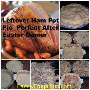 How to Make Ham Pot Pie From Leftover Ham