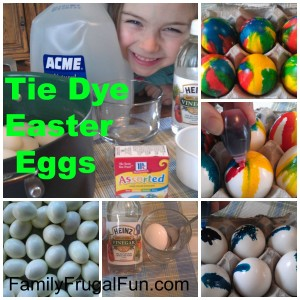 How to Make Tie Dye Eggs