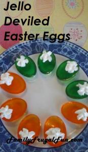 Jello Easter Eggs Jello Devilled Easter Eggs