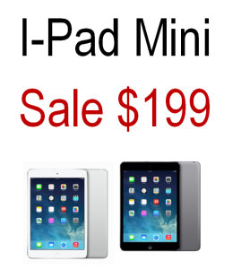 Best Price on i-Pad Mini