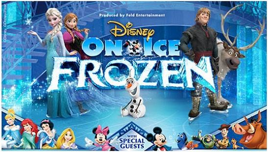 How to use a Disney On Ice coupon Disney On Ice is a theatrical production that brings all your favorite Disney characters and stories to life via the artistic skills of ice skaters. You can check show times, locations and ticket prices on the official website as well as play games and do other activities for free.