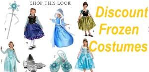 Discount Frozen Halloween costumes