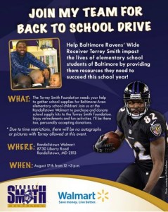 Torrey Brown Back to School Drive