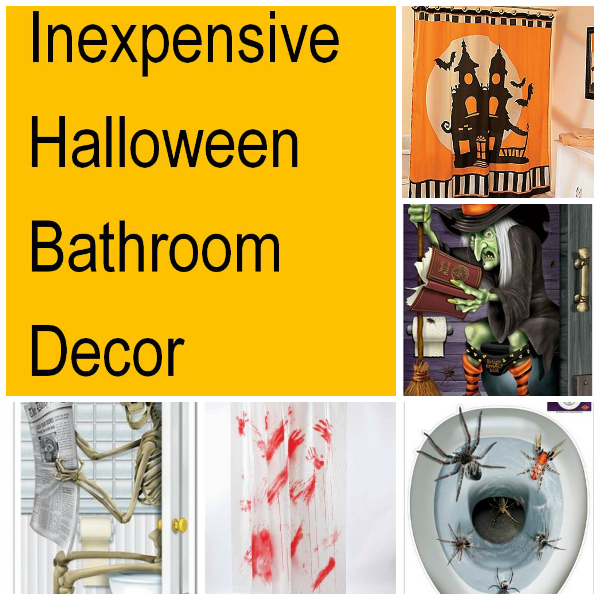 halloween bathroom decor - Halloween Bathroom Decorations
