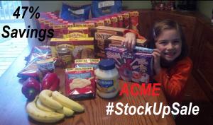 ACME #StockUpSale