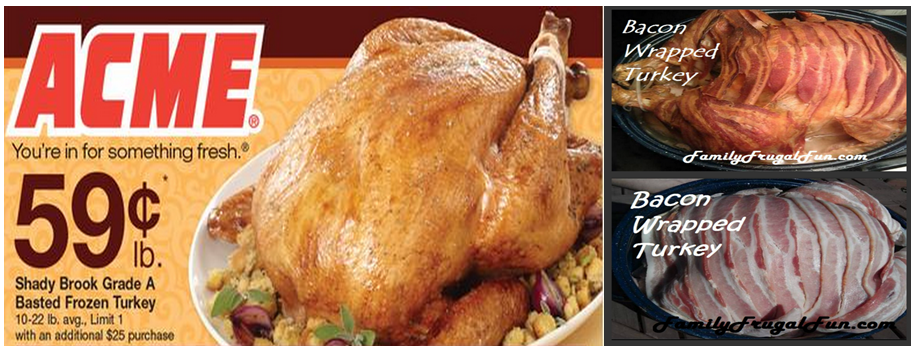 ACME Discount Thankgiving Turkey Prices