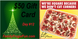 12 Days of Christmas Ledo Pizza Gift Card