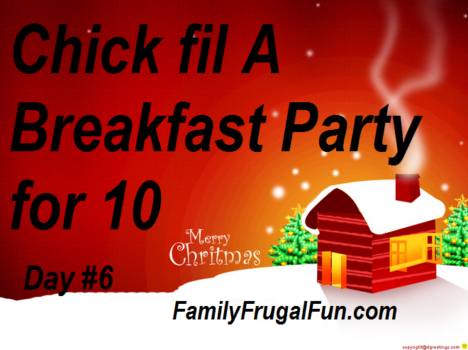 chick fil a 12 days of christmas giveaway family frugal fun