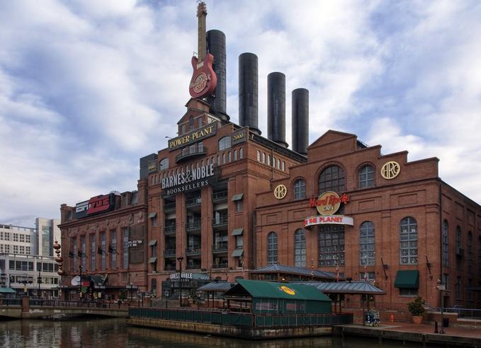 Baltimore Aquarium Hard Rock Cafe
