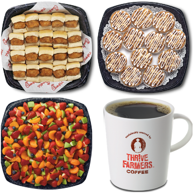 Chick Fil A Breakfast Tray Magnificent Day 60 Win Chick Fil A For 60 People In The 60 Days Of Christmas