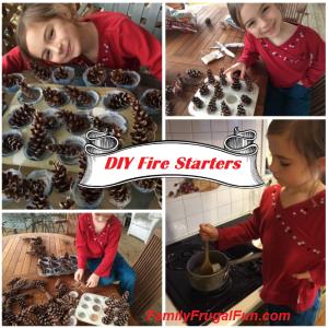 DIY Fire Starters ''