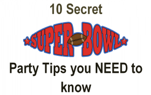 Superbowl Party Tip Ideas