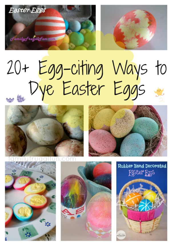 Ways To Dye Easter Eggs Family Finds Fun