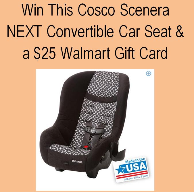 Cosco Scenera Next Car Sear Review