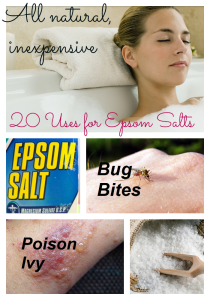 Epsom Salt Uses          ''