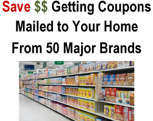 How to Get Coupons Mailed to Your Home