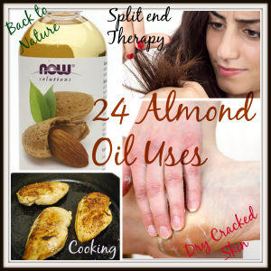 Sweet Almond Oil Uses