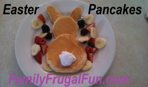 Easter Pancakes Easter Breakfast Ideas