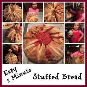 Easy Stuffed Cheesy Bread Recipe