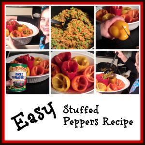 Easy Stuffed Peppers Recipe  '