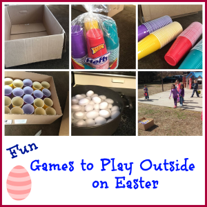 Fun Games to Play Outside on Easter    '