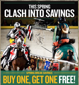 Medieval Times Maryland coupon code