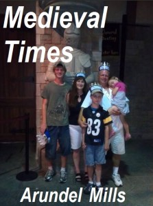 Medieval times family promotion