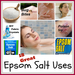Epsom Salt Uses    '
