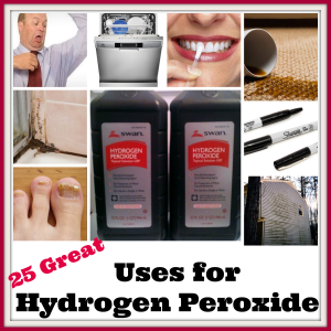 Uses for Hydrogen Peroxide    '