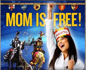 Medieval Times Mother's Day Special