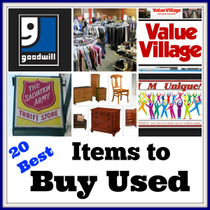 20 Best Items to Buy Used