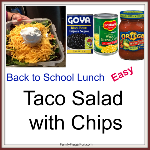 Back to School Lunch Ideas '